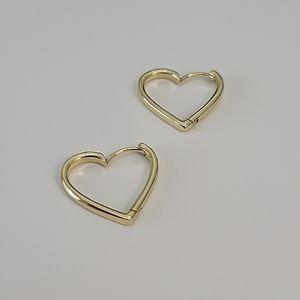 Set of Heart-Shaped Earrings